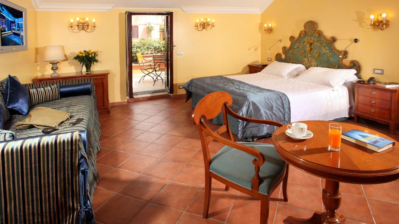 Hotel-Mozart-Roma-habitacion-de-luxe