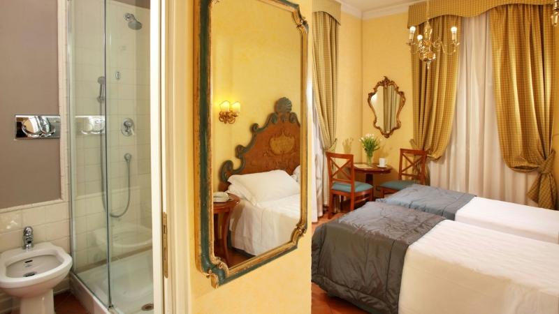 Hotel-Mozart-Roma-cuarto-de-baño-habitacion-3